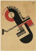 Art Exhibition poster: Weimar (1923)